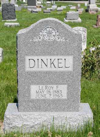 DINKEL, LEROY F. - Harrison County, Ohio | LEROY F. DINKEL - Ohio Gravestone Photos