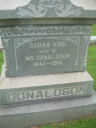 KING DONALDSON, SARAH - Harrison County, Ohio | SARAH KING DONALDSON - Ohio Gravestone Photos