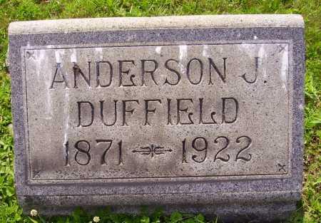 DUFFIELD, ANDERSON J. - Harrison County, Ohio | ANDERSON J. DUFFIELD - Ohio Gravestone Photos
