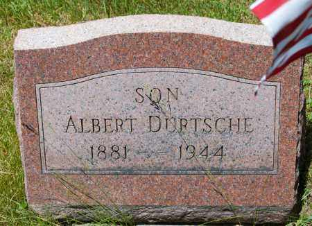 DURTSCHE, ALBERT - Harrison County, Ohio | ALBERT DURTSCHE - Ohio Gravestone Photos