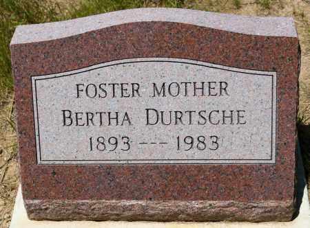 DURTSCHE, BERTHA - Harrison County, Ohio | BERTHA DURTSCHE - Ohio Gravestone Photos