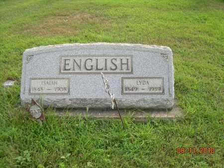 ENGLISH, ISAIAH - Harrison County, Ohio | ISAIAH ENGLISH - Ohio Gravestone Photos