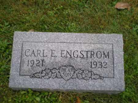 ENGSTROM, CARL E - Harrison County, Ohio | CARL E ENGSTROM - Ohio Gravestone Photos
