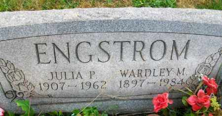 ENGSTROM, JULIA P - Harrison County, Ohio | JULIA P ENGSTROM - Ohio Gravestone Photos