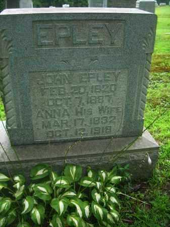 EPLEY, ANNA - Harrison County, Ohio | ANNA EPLEY - Ohio Gravestone Photos