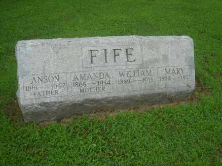 FIFE, WILLIAM - Harrison County, Ohio | WILLIAM FIFE - Ohio Gravestone Photos
