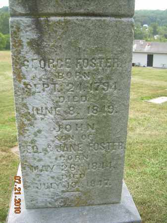 FOSTER, GEORGE - Harrison County, Ohio | GEORGE FOSTER - Ohio Gravestone Photos