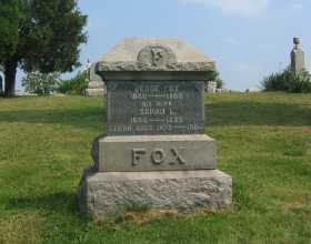 FOX, JESSE - Harrison County, Ohio | JESSE FOX - Ohio Gravestone Photos