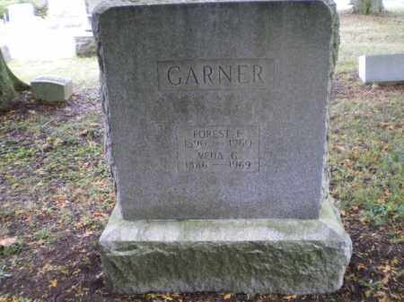 GARNER, FOREST F - Harrison County, Ohio | FOREST F GARNER - Ohio Gravestone Photos