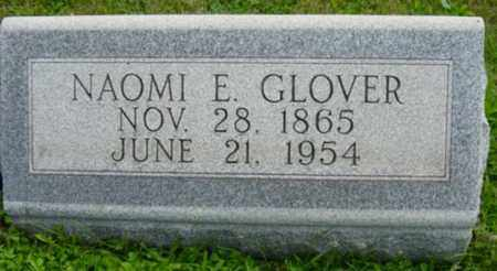 GLOVER, NAOMI E. - Harrison County, Ohio | NAOMI E. GLOVER - Ohio Gravestone Photos