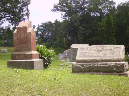 GOTSCHALL, MATTIE J. - OVERALL VIEW - Harrison County, Ohio | MATTIE J. - OVERALL VIEW GOTSCHALL - Ohio Gravestone Photos