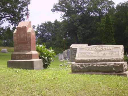 GOTSCHALL, MILTON ORLANDO - OVERAL VIEW - Harrison County, Ohio | MILTON ORLANDO - OVERAL VIEW GOTSCHALL - Ohio Gravestone Photos