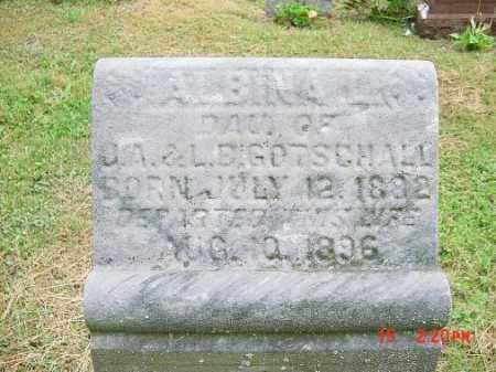 GOTSCHALL, ALBINA L. - Harrison County, Ohio | ALBINA L. GOTSCHALL - Ohio Gravestone Photos