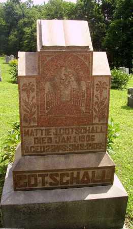 GOTSCHALL, MATTIE J. - Harrison County, Ohio | MATTIE J. GOTSCHALL - Ohio Gravestone Photos