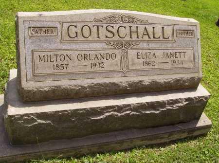 GOTSCHALL, MILTON ORLANDO - Harrison County, Ohio | MILTON ORLANDO GOTSCHALL - Ohio Gravestone Photos