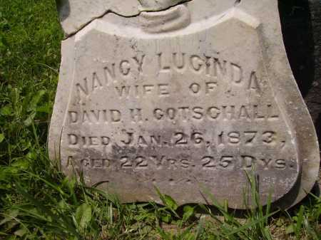 THOMPSON GOTSCHALL, NANCY LUCINDA - Harrison County, Ohio | NANCY LUCINDA THOMPSON GOTSCHALL - Ohio Gravestone Photos