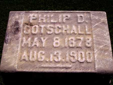 GOTSCHALL, PHILIP D. - Harrison County, Ohio | PHILIP D. GOTSCHALL - Ohio Gravestone Photos