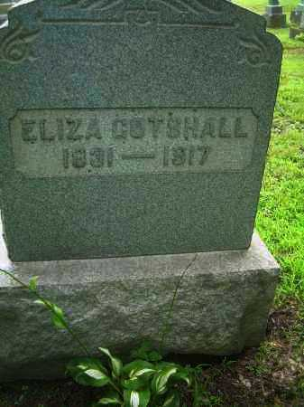 GOTSHALL, ELIZA - Harrison County, Ohio | ELIZA GOTSHALL - Ohio Gravestone Photos