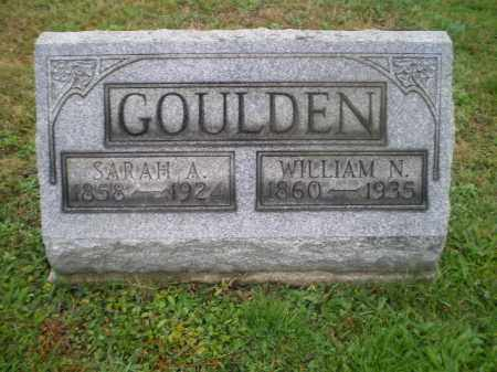 GOULDEN, WILLIAM N - Harrison County, Ohio | WILLIAM N GOULDEN - Ohio Gravestone Photos