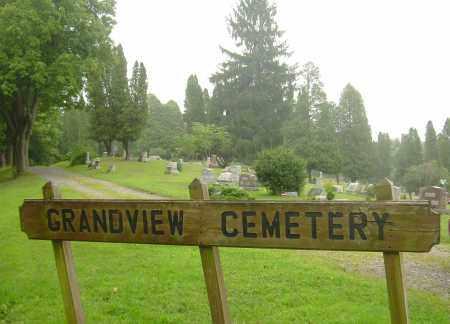 GRANDVIEW CEMETERY, SIGN - Harrison County, Ohio | SIGN GRANDVIEW CEMETERY - Ohio Gravestone Photos