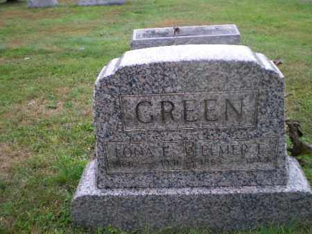 GREEN, ELMER E - Harrison County, Ohio | ELMER E GREEN - Ohio Gravestone Photos