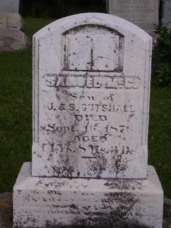GUTSHALL, SAMUEL MCC. - Harrison County, Ohio | SAMUEL MCC. GUTSHALL - Ohio Gravestone Photos