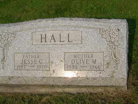 STRELEY HALL, OLIVE M - Harrison County, Ohio | OLIVE M STRELEY HALL - Ohio Gravestone Photos