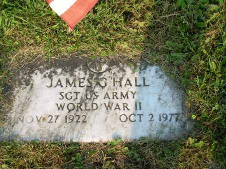 HALL, JAMES GARRETT - Harrison County, Ohio | JAMES GARRETT HALL - Ohio Gravestone Photos