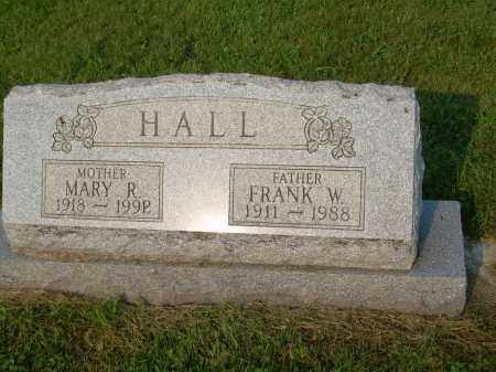HALL, MARY R - Harrison County, Ohio | MARY R HALL - Ohio Gravestone Photos