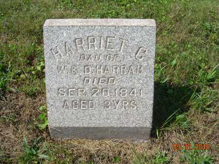 HARRAH, HARRIET C - Harrison County, Ohio | HARRIET C HARRAH - Ohio Gravestone Photos
