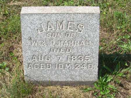 HARRAH, JAMES - Harrison County, Ohio | JAMES HARRAH - Ohio Gravestone Photos