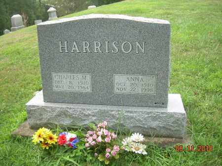 HARRISON, ANNA - Harrison County, Ohio | ANNA HARRISON - Ohio Gravestone Photos