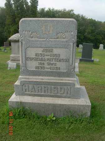 HARRISON, JOHN - Harrison County, Ohio | JOHN HARRISON - Ohio Gravestone Photos