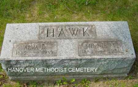 EPLEY HAWK, MINNIE M. - Harrison County, Ohio | MINNIE M. EPLEY HAWK - Ohio Gravestone Photos