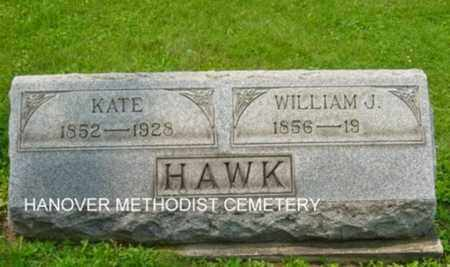 HAWK, WILLIAM J. - Harrison County, Ohio | WILLIAM J. HAWK - Ohio Gravestone Photos