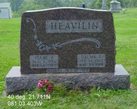HEAVILIN, ISAAC E. - Harrison County, Ohio | ISAAC E. HEAVILIN - Ohio Gravestone Photos