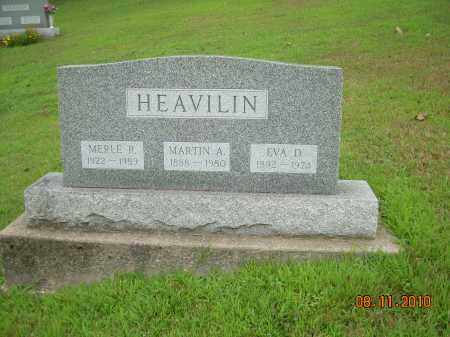 HEAVILIN, MERLE R - Harrison County, Ohio | MERLE R HEAVILIN - Ohio Gravestone Photos