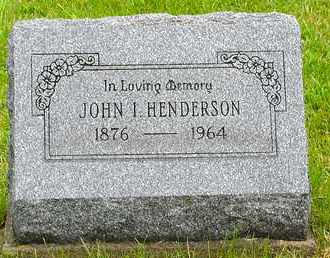 HENDERSON, JOHN INGRAM - Harrison County, Ohio | JOHN INGRAM HENDERSON - Ohio Gravestone Photos
