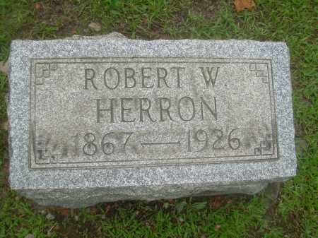 HERRON, ROBERT W. - Harrison County, Ohio | ROBERT W. HERRON - Ohio Gravestone Photos