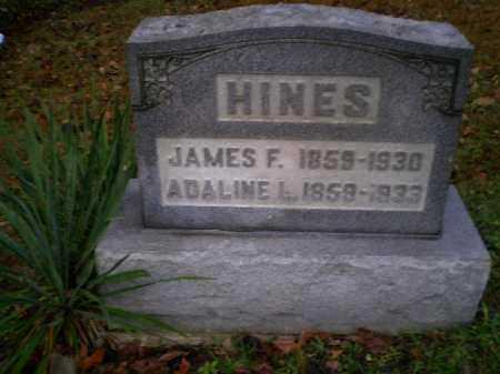 HINES, ADALINE LUCINDA - Harrison County, Ohio | ADALINE LUCINDA HINES - Ohio Gravestone Photos