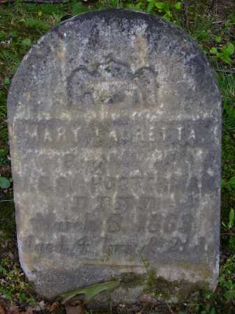 HOSTERMAN, MARY LAURETTA - Harrison County, Ohio | MARY LAURETTA HOSTERMAN - Ohio Gravestone Photos
