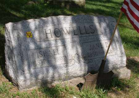 HOWELL, ISRAEL - Harrison County, Ohio | ISRAEL HOWELL - Ohio Gravestone Photos