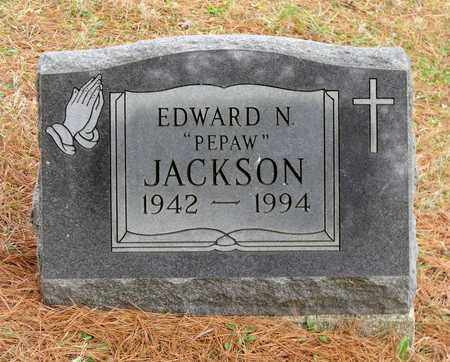 JACKSON, EDWARD N. - Harrison County, Ohio | EDWARD N. JACKSON - Ohio Gravestone Photos