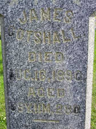 JAMES, GOTSHALL - Harrison County, Ohio | GOTSHALL JAMES - Ohio Gravestone Photos