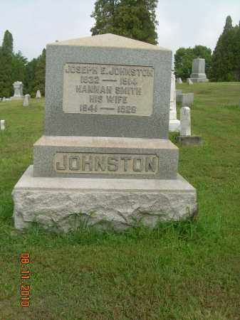 JOHNSTON, JOSEPH E - Harrison County, Ohio | JOSEPH E JOHNSTON - Ohio Gravestone Photos