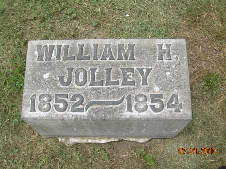 JOLLEY, WILLIAM H - Harrison County, Ohio | WILLIAM H JOLLEY - Ohio Gravestone Photos
