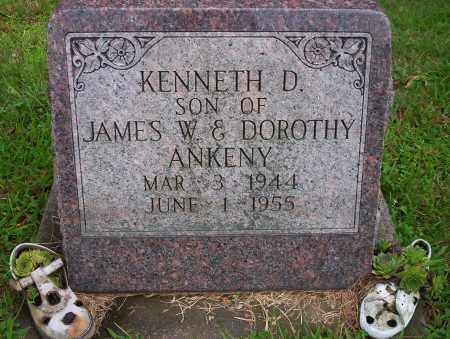 ANKENY, KENNETH D - Harrison County, Ohio | KENNETH D ANKENY - Ohio Gravestone Photos