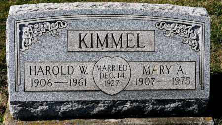 TURNER KIMMEL, MARY A. - Harrison County, Ohio | MARY A. TURNER KIMMEL - Ohio Gravestone Photos
