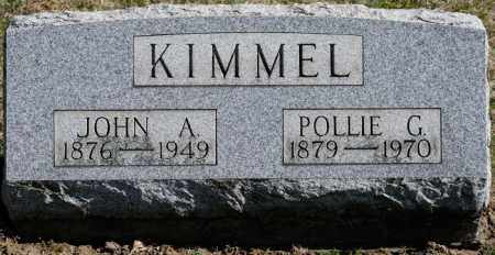 KIMMEL, POLLIE G - Harrison County, Ohio | POLLIE G KIMMEL - Ohio Gravestone Photos