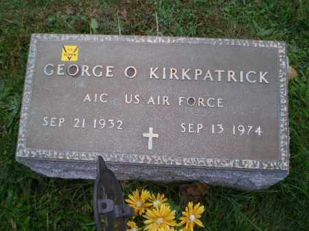 KIRKPATRICK, GEORGE O - Harrison County, Ohio | GEORGE O KIRKPATRICK - Ohio Gravestone Photos